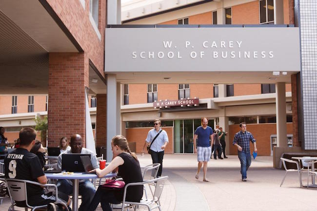 Arizona State University W P Carey School of Business Online MBA USA
