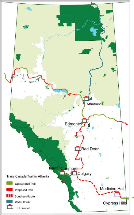 Athabasca Map